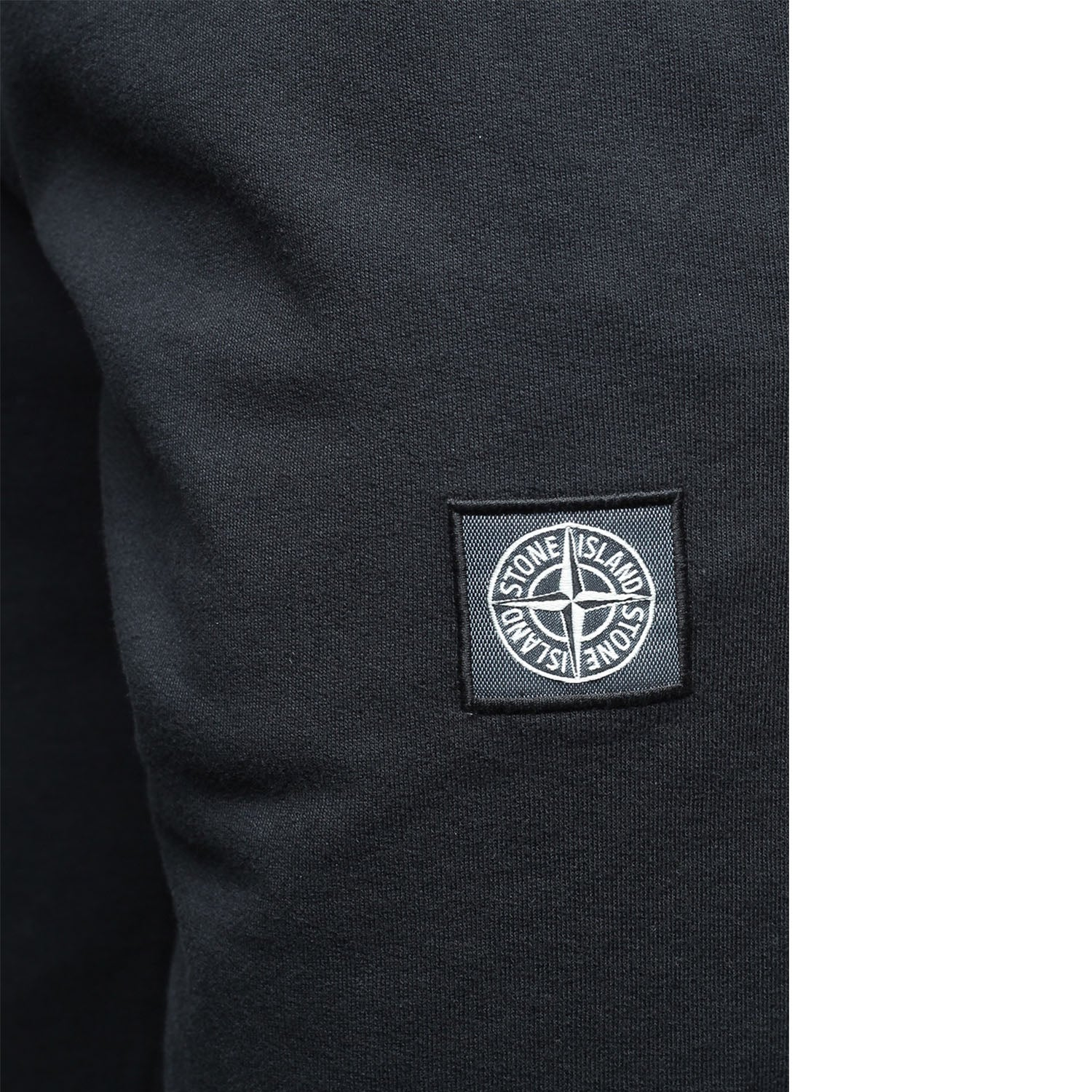 Stone Island Embroidered Logo Patch Sweatpants Black