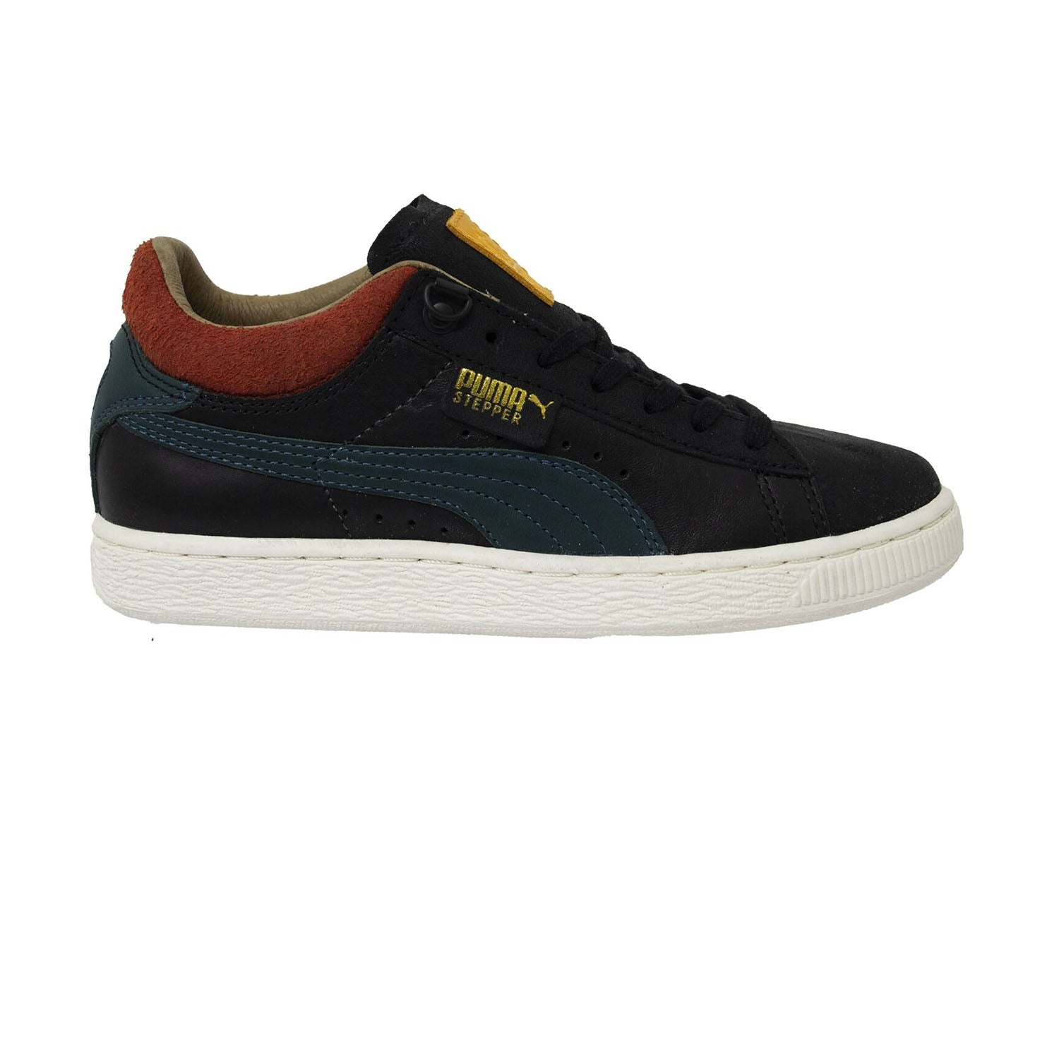 Puma Stepper Classic MMQ Leather Lace Up Trainers