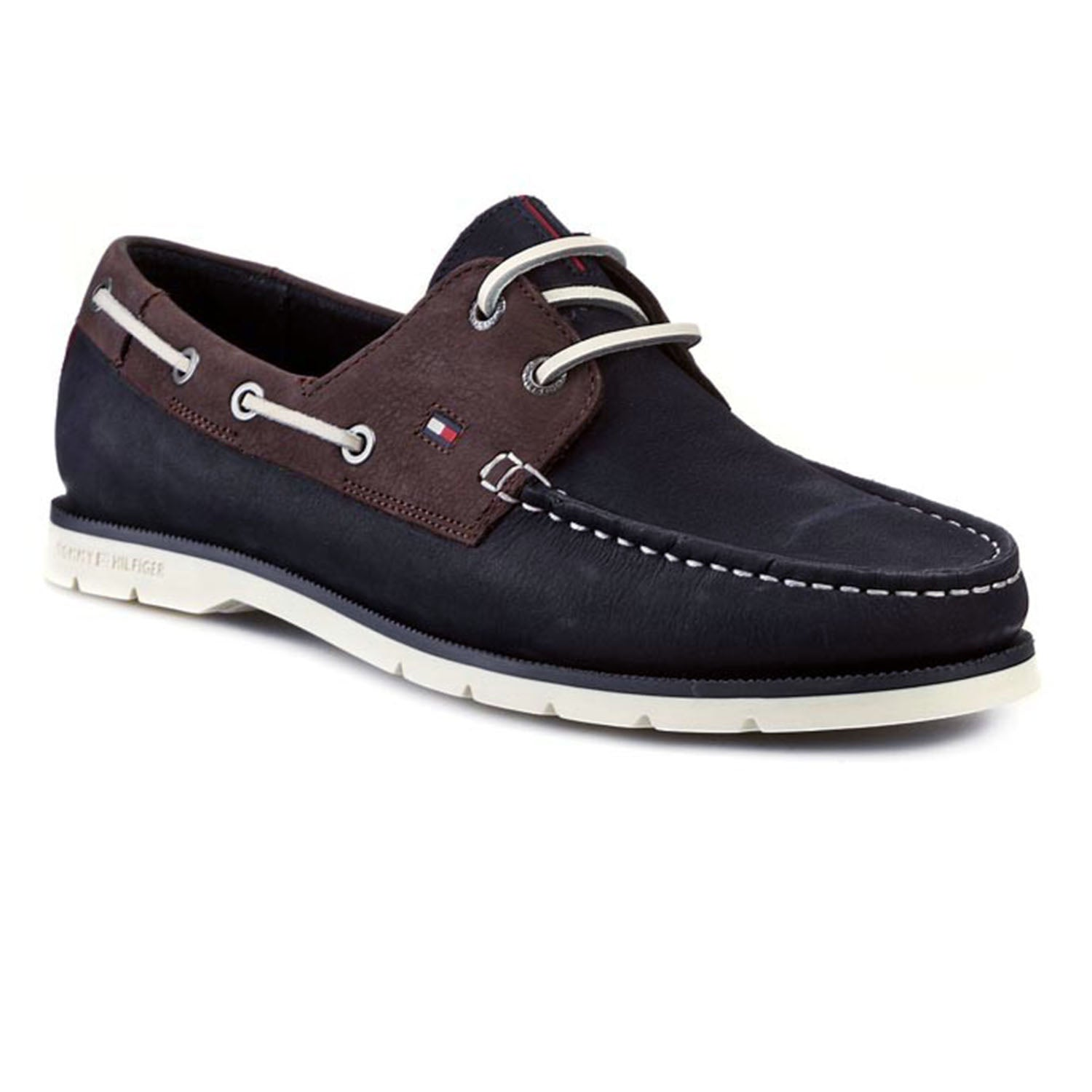 Tommy Hilfiger CAIN 3N Leather Boat Shoes