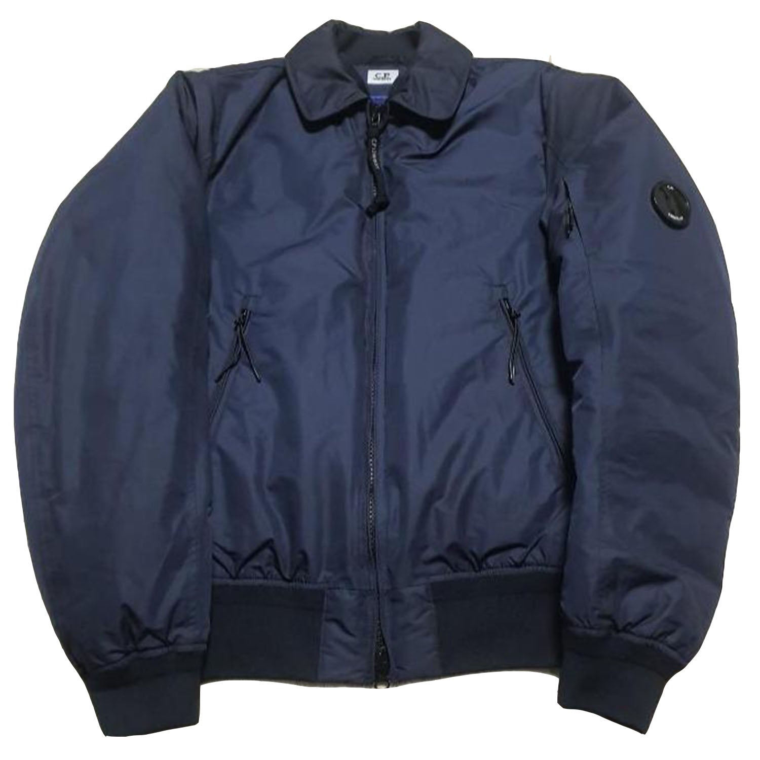 CP Company Short Down Padding Jacket Navy