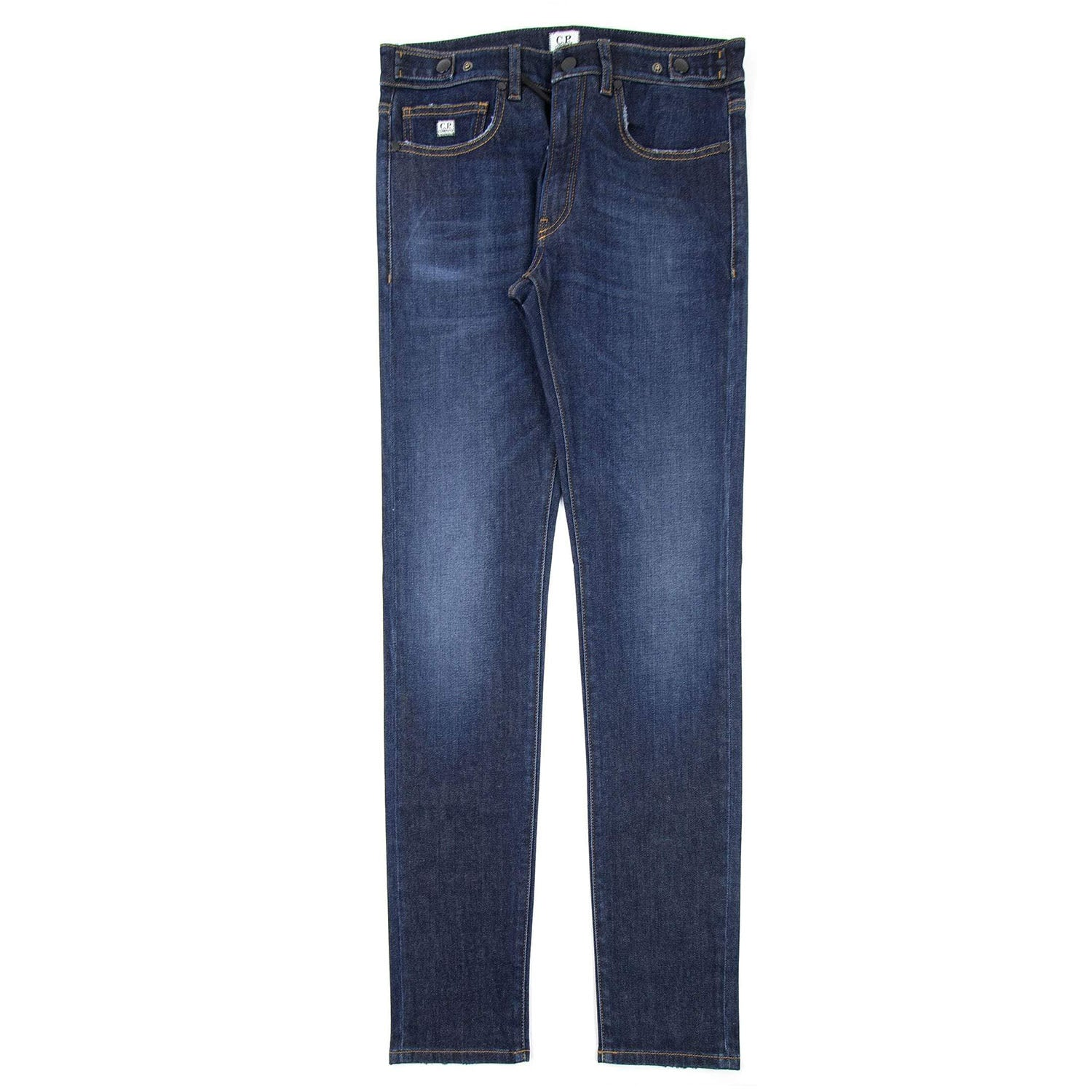 CP Company Slim Fit Dark Wash Jeans