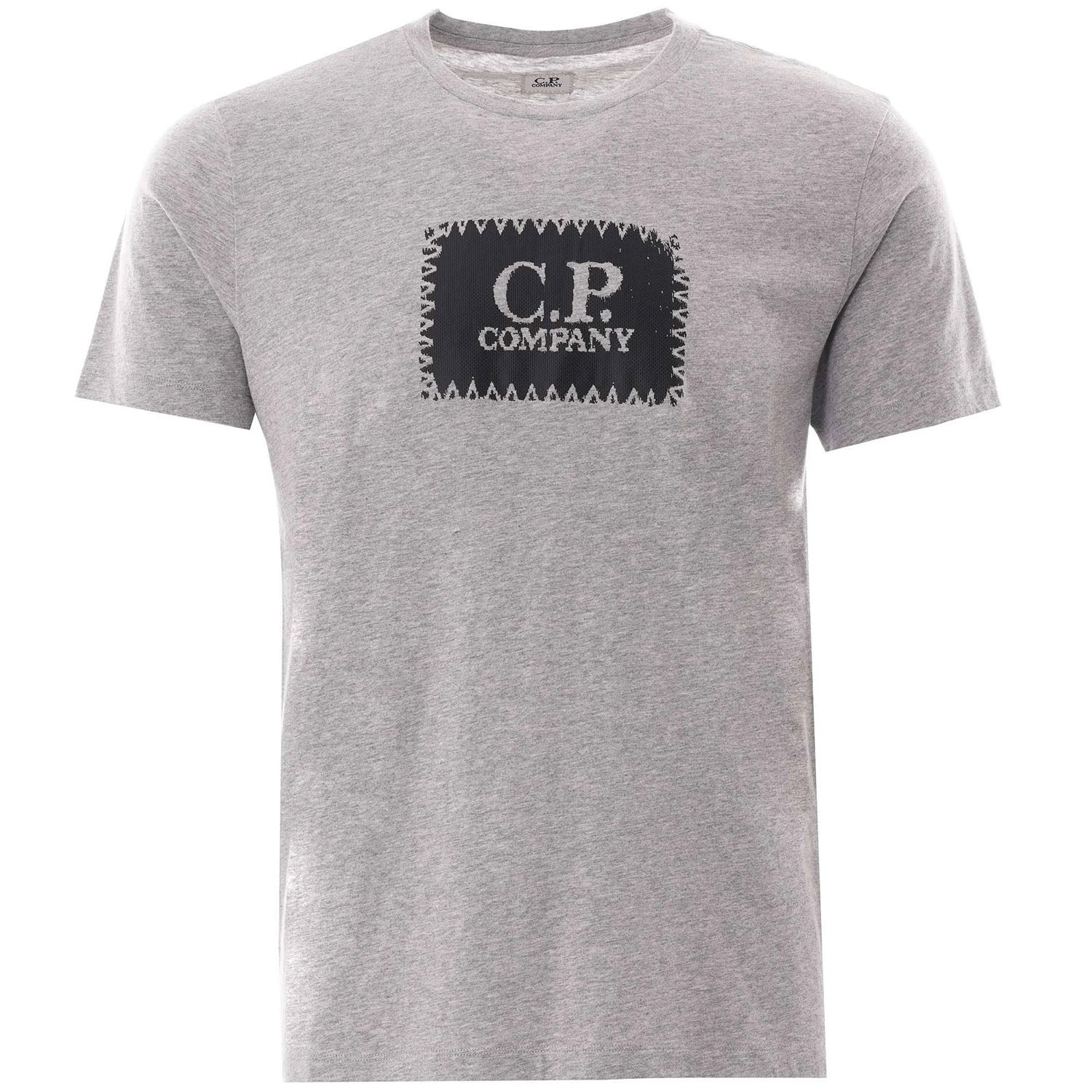 CP Company Black Stamp Logo T-Shirt