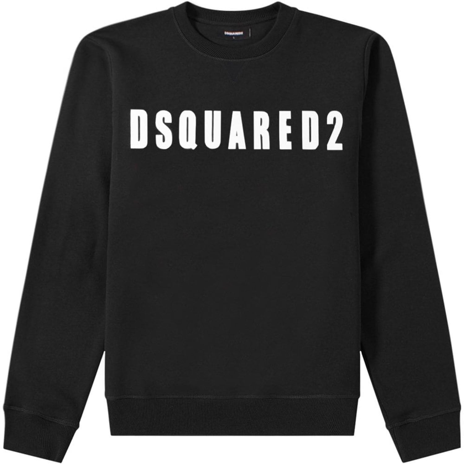 DSquared2 Black Logo Print Sweatshirt