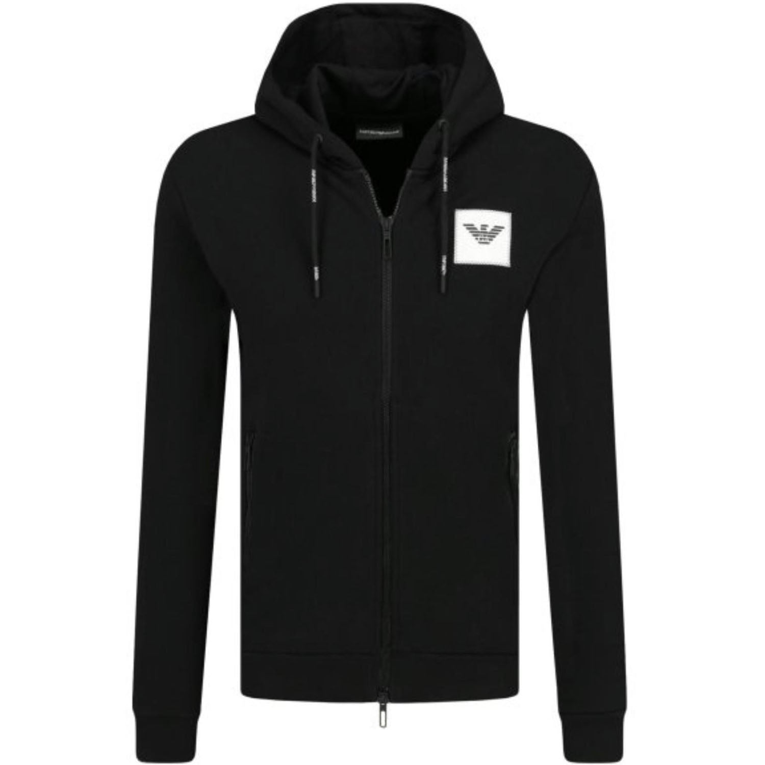 Emporio Armani Hooded Zip up Sweatshirt