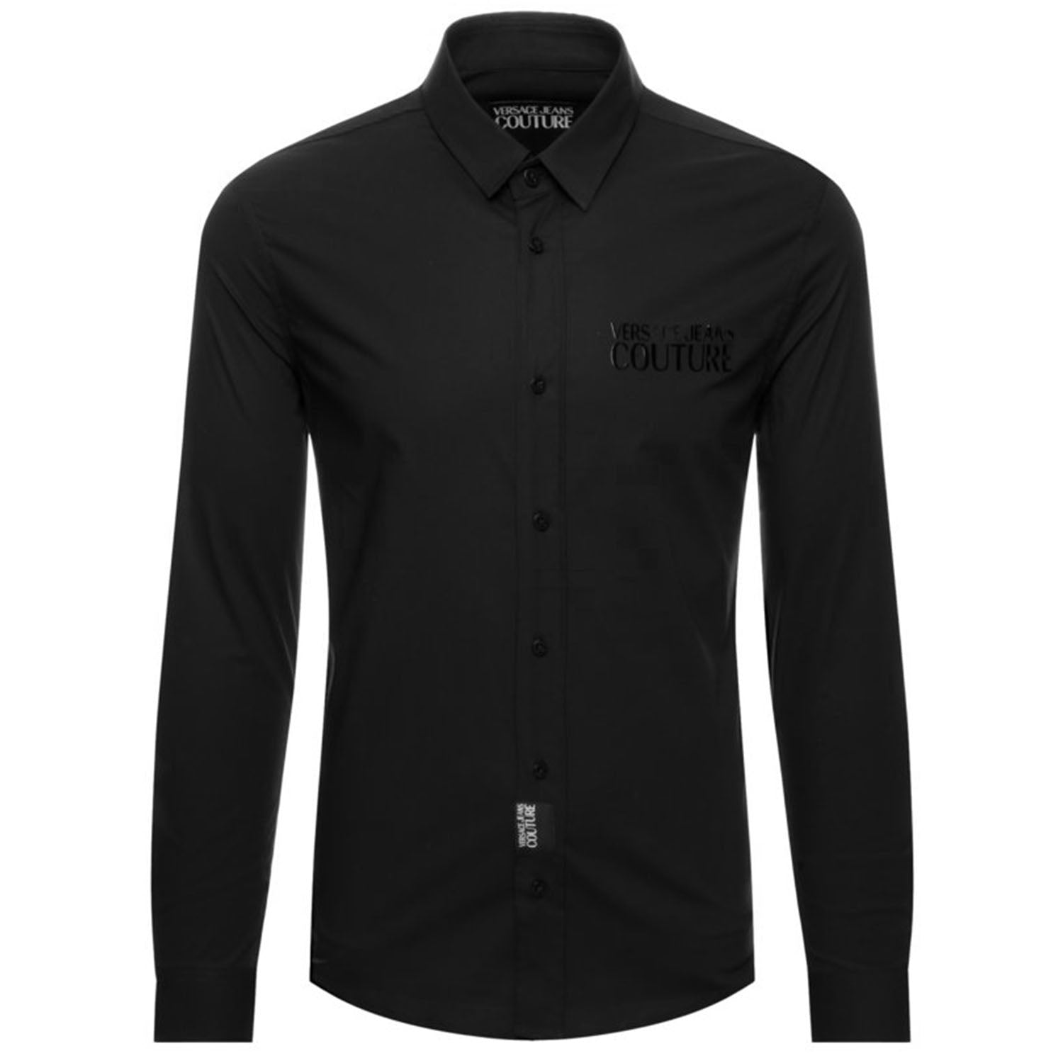 Versace Jeans Couture Engraved Logo Slim Shirt