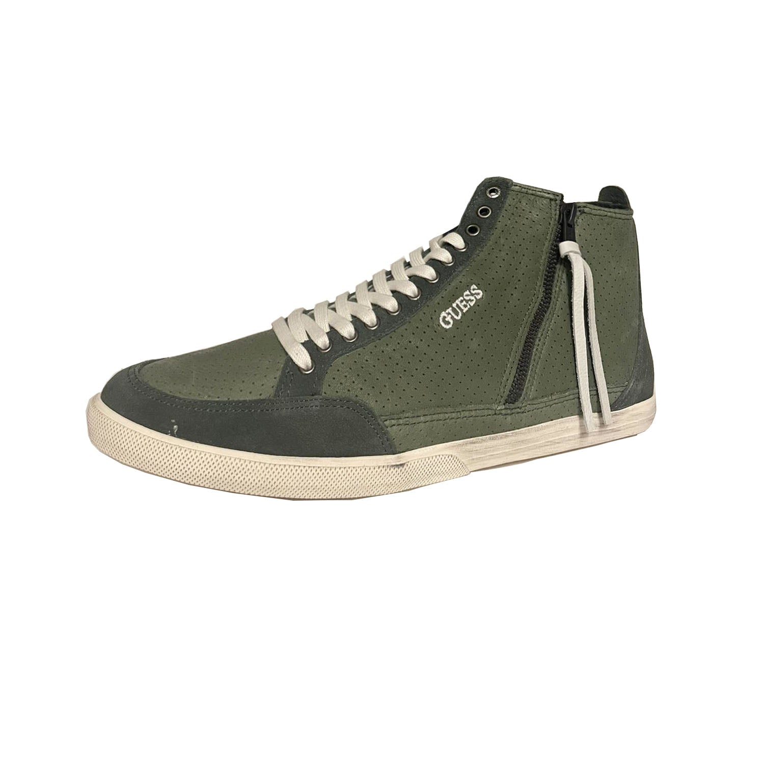 Guess Victor Lace up High Top Trainer