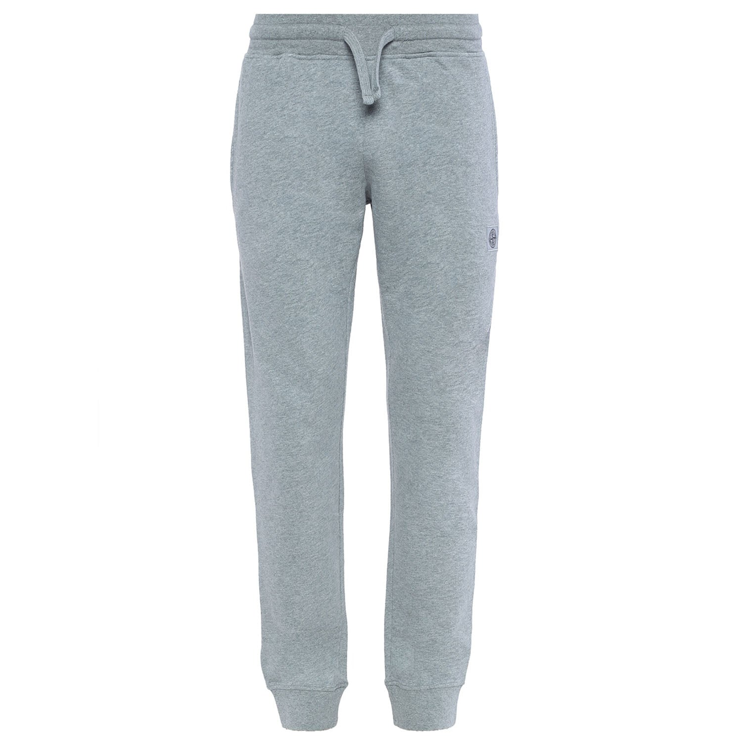 Stone Island Embroidered Logo Patch Sweatpants Grey