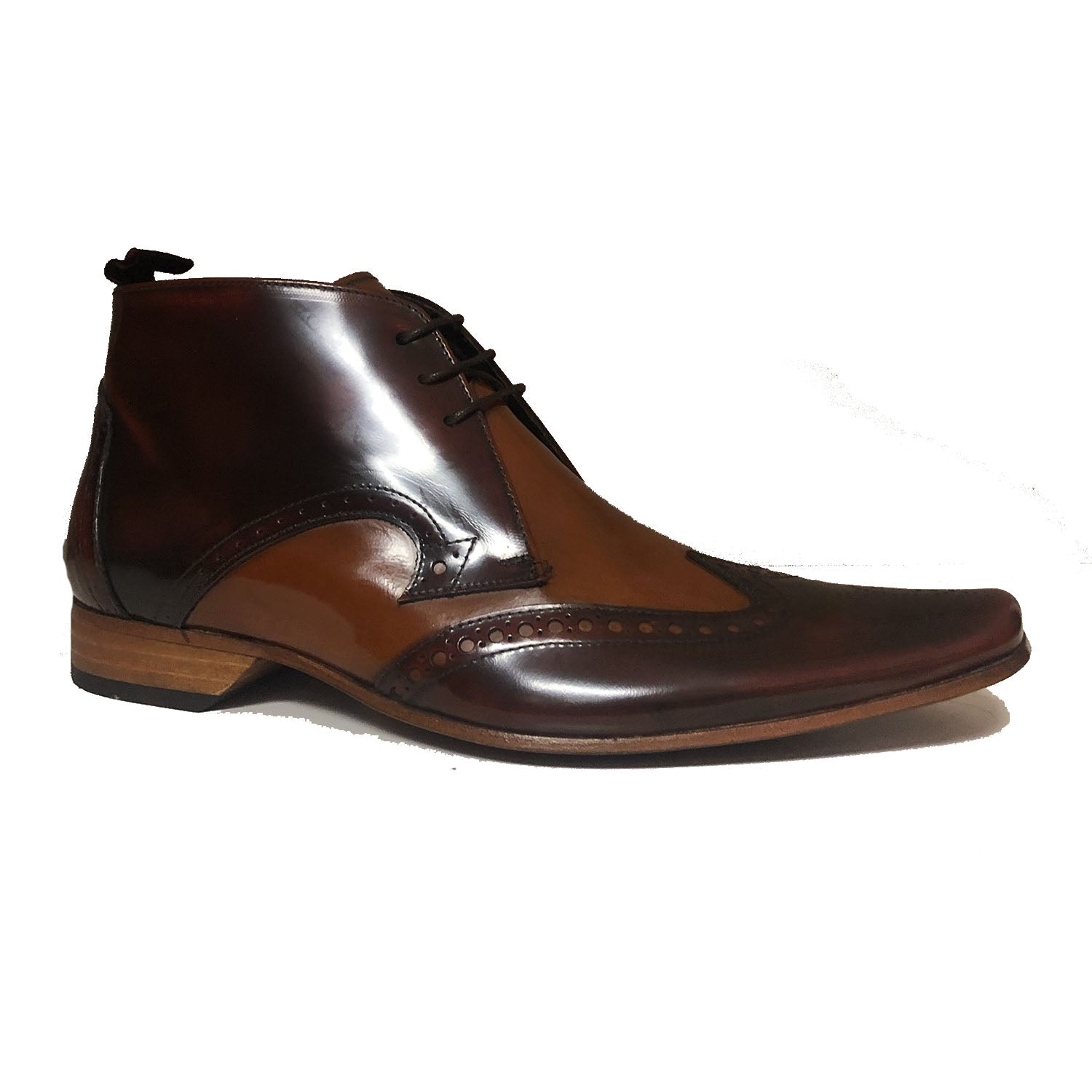 Jeffery West Mid Brown Honey Boot
