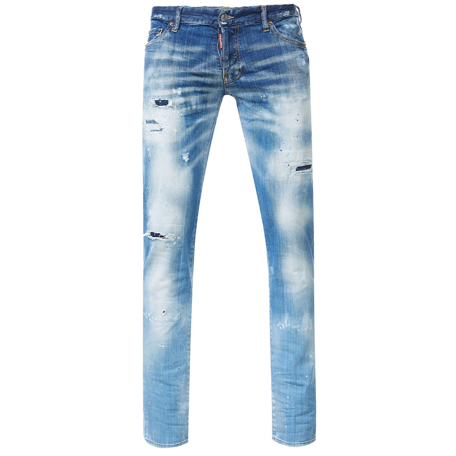 DSquared2 Slim Jeans Faded Wash