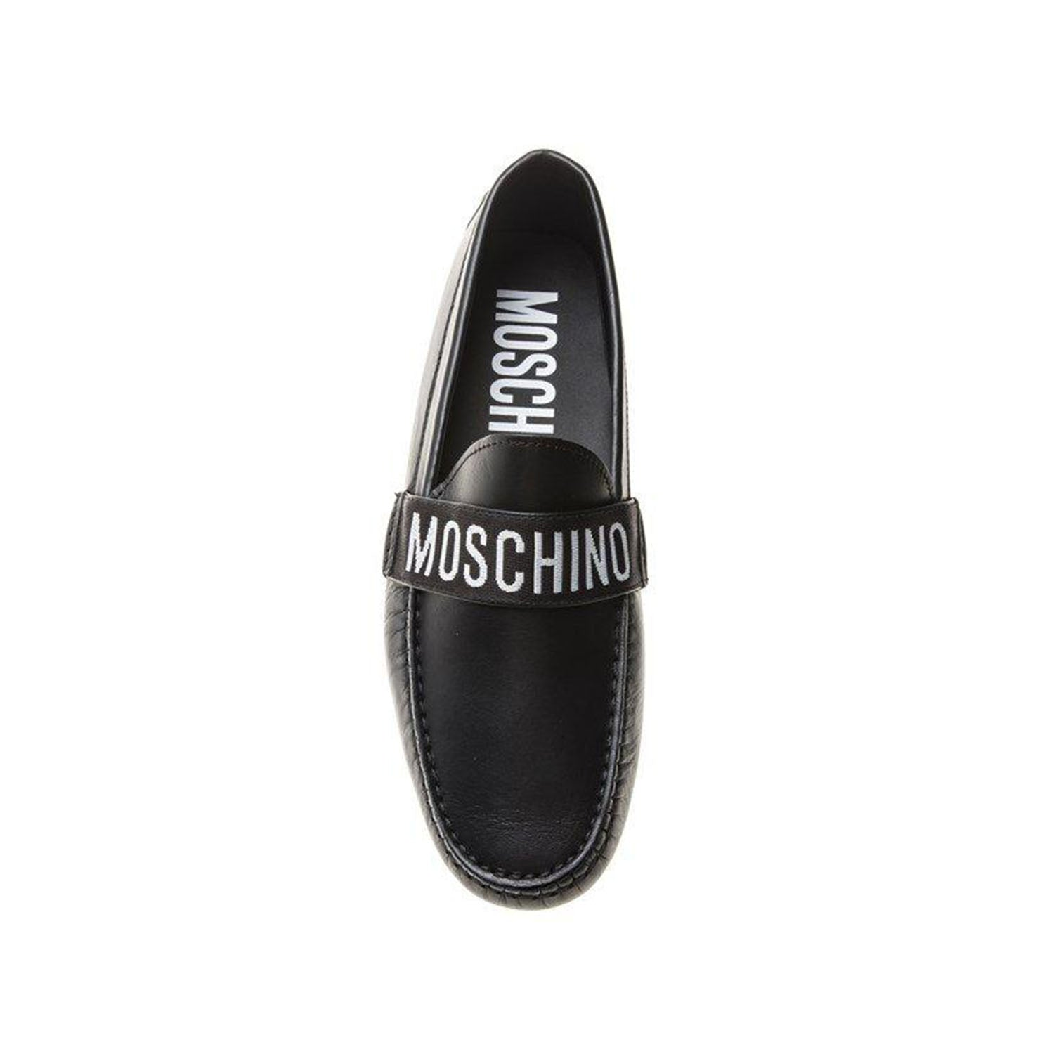 Moschino Logo Loafers
