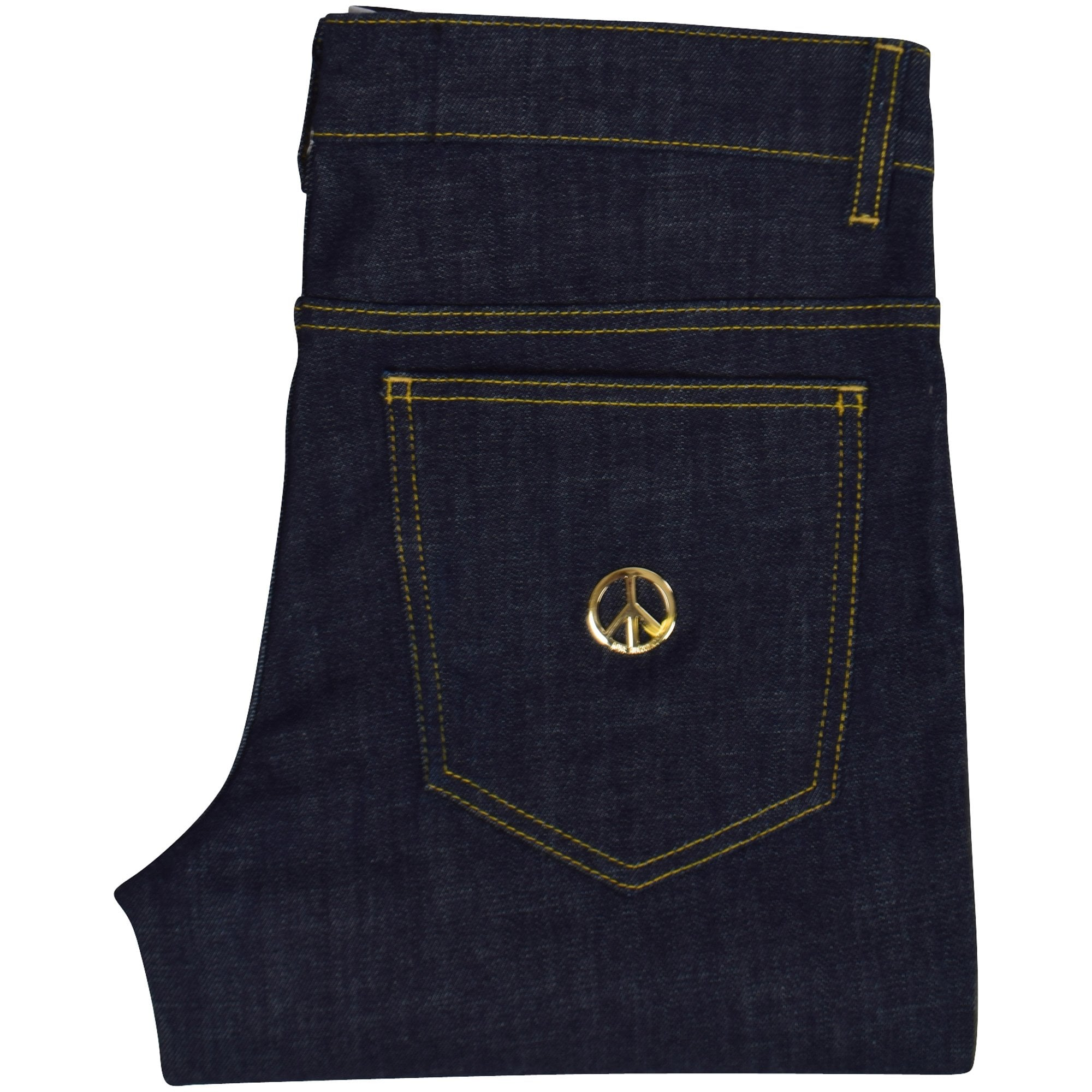 Love Moschino Denim Stretch Peace Logo Jeans