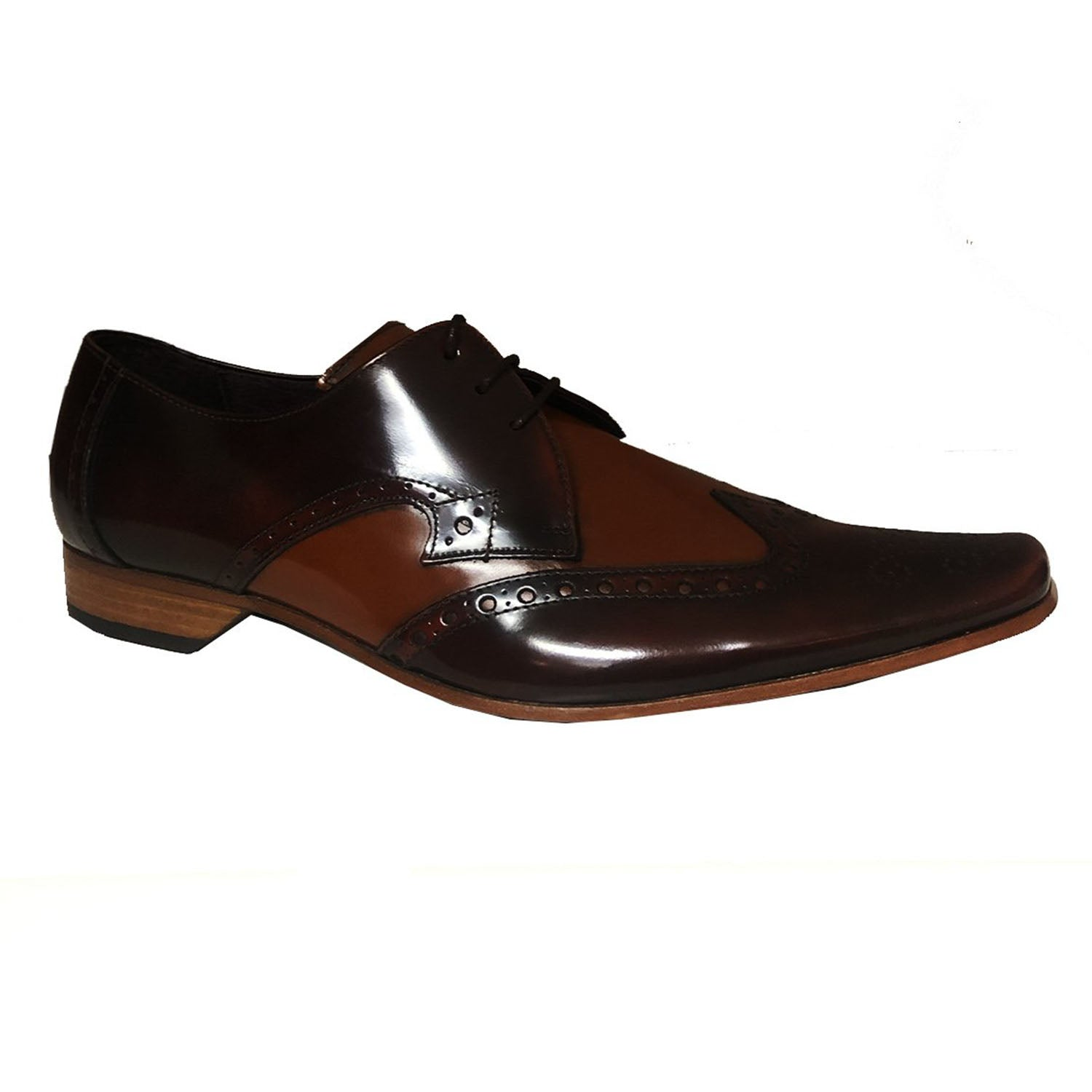Jeffery West Mid Brown Honey Lace up Shoe