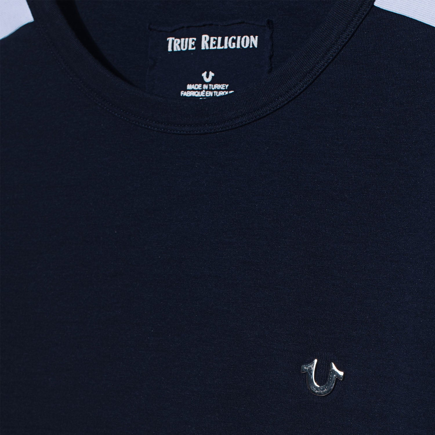 True Religion Blue Contrast Sweatshirt