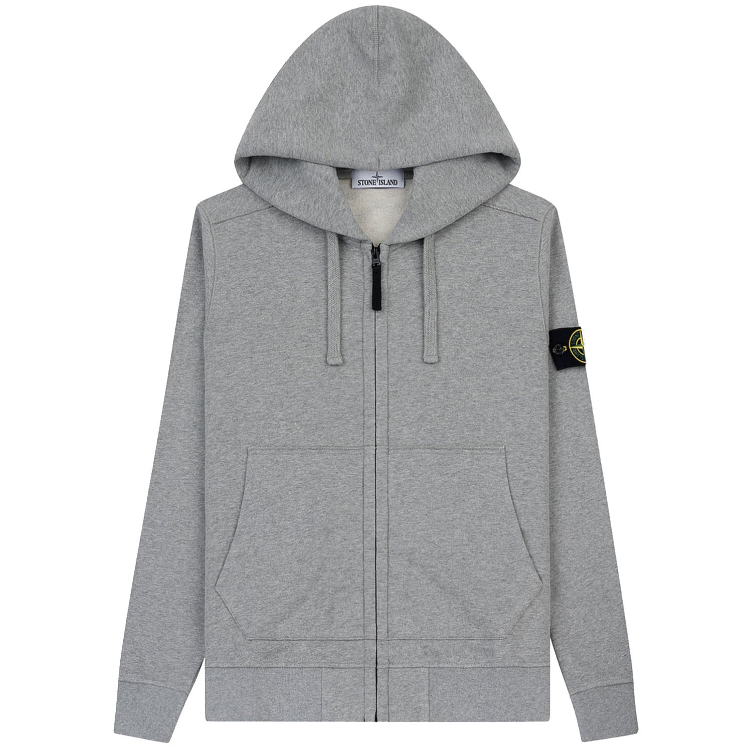Stone Island Zip Up Sweatshirt