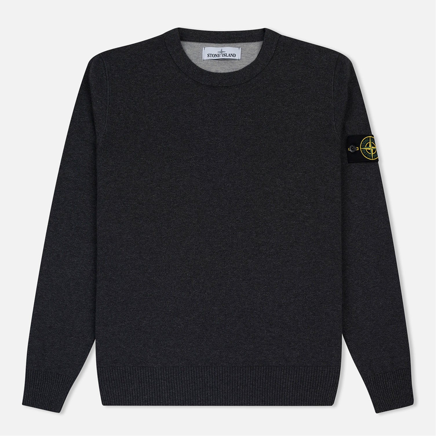 Stone Island Knitted Jumper Grey