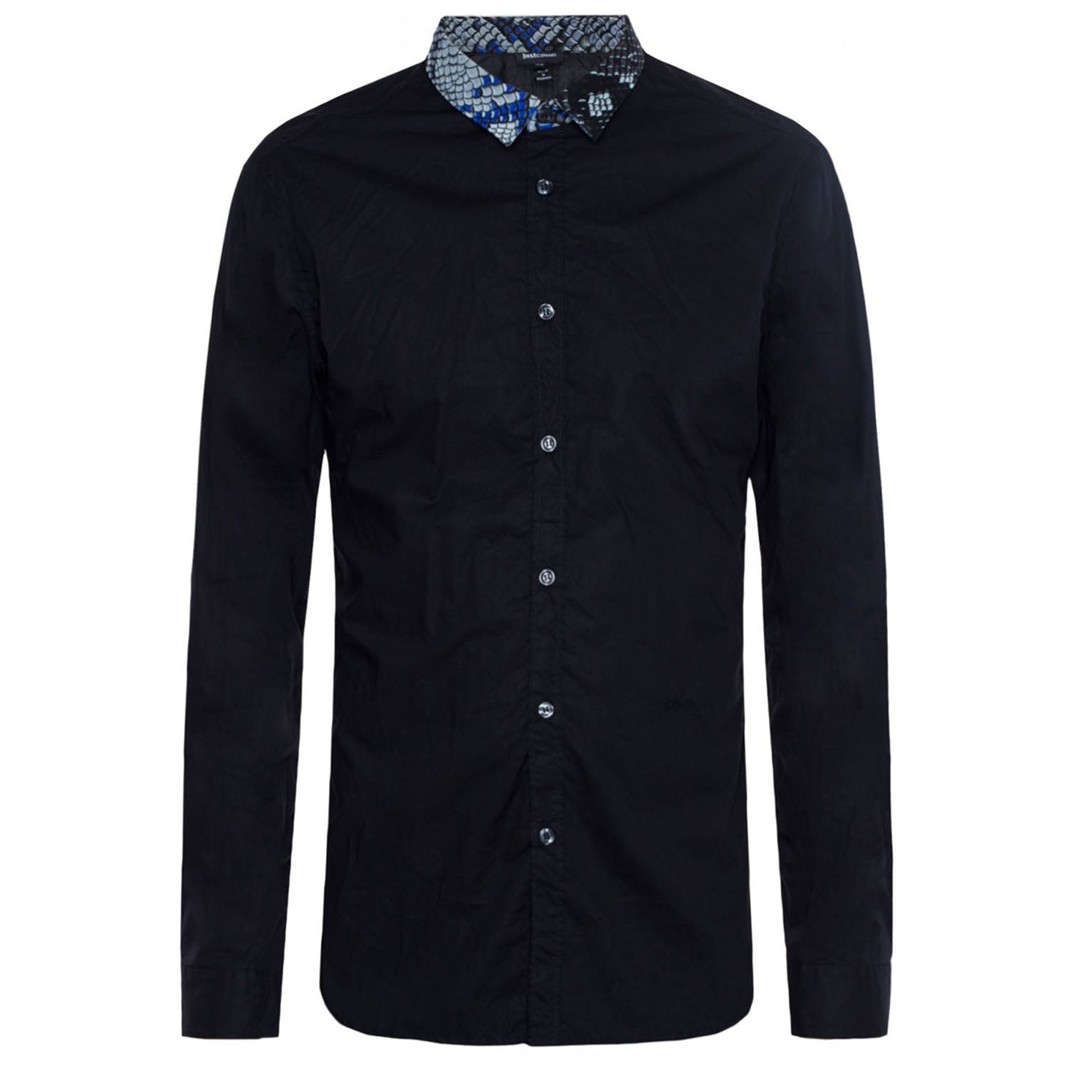 Just Cavalli Patterned Collar Shirt