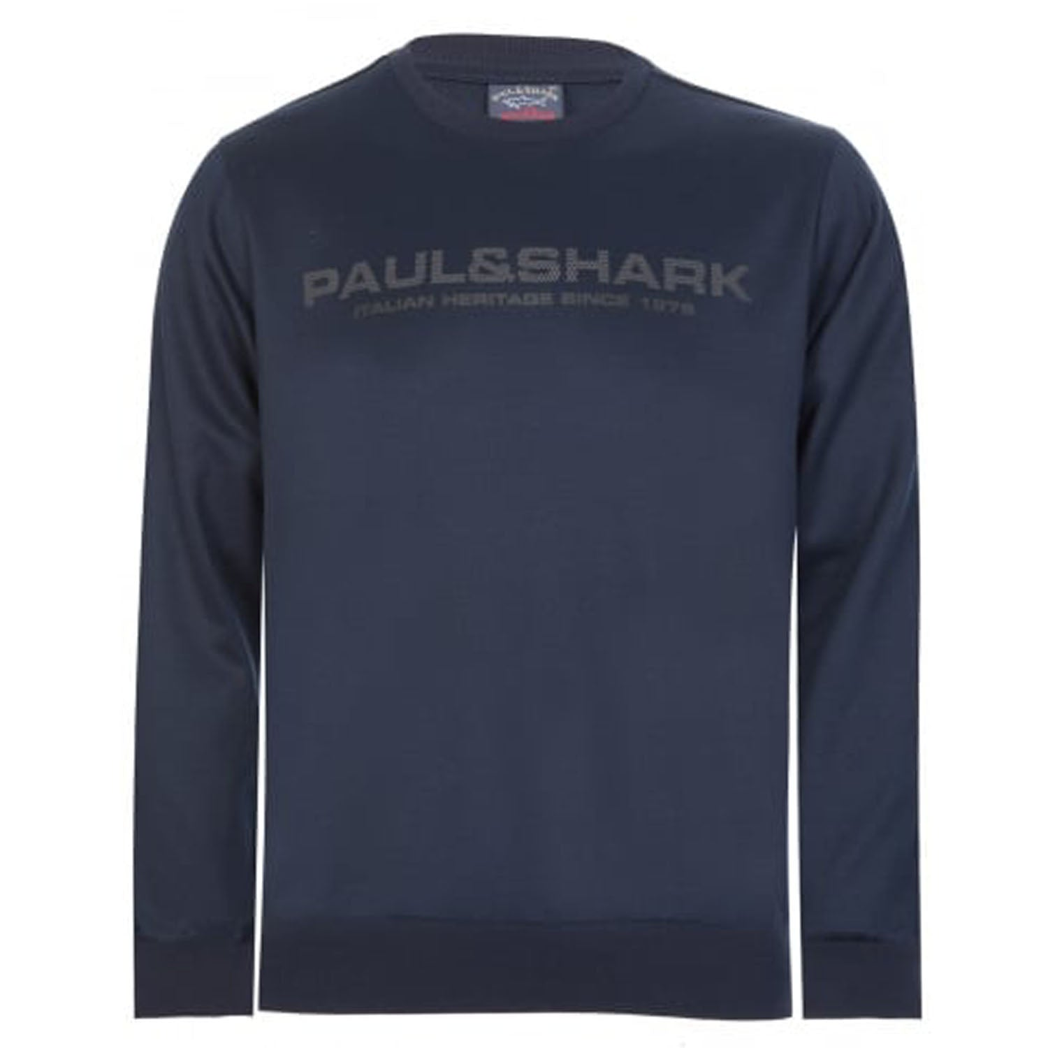 Paul & Shark Perforated Logo Sweatshirt