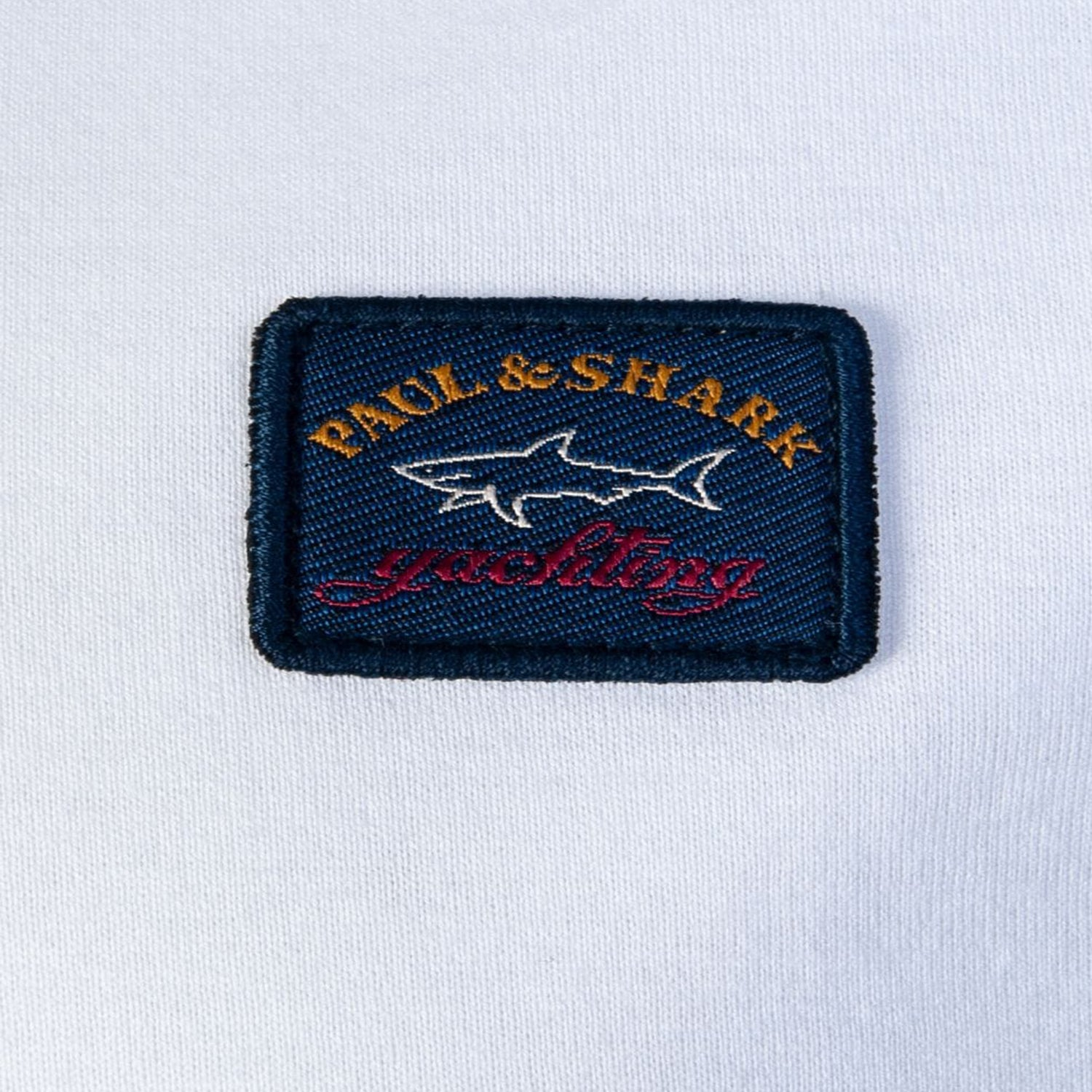 Paul & Shark Embroidered Patch Logo T-Shirt