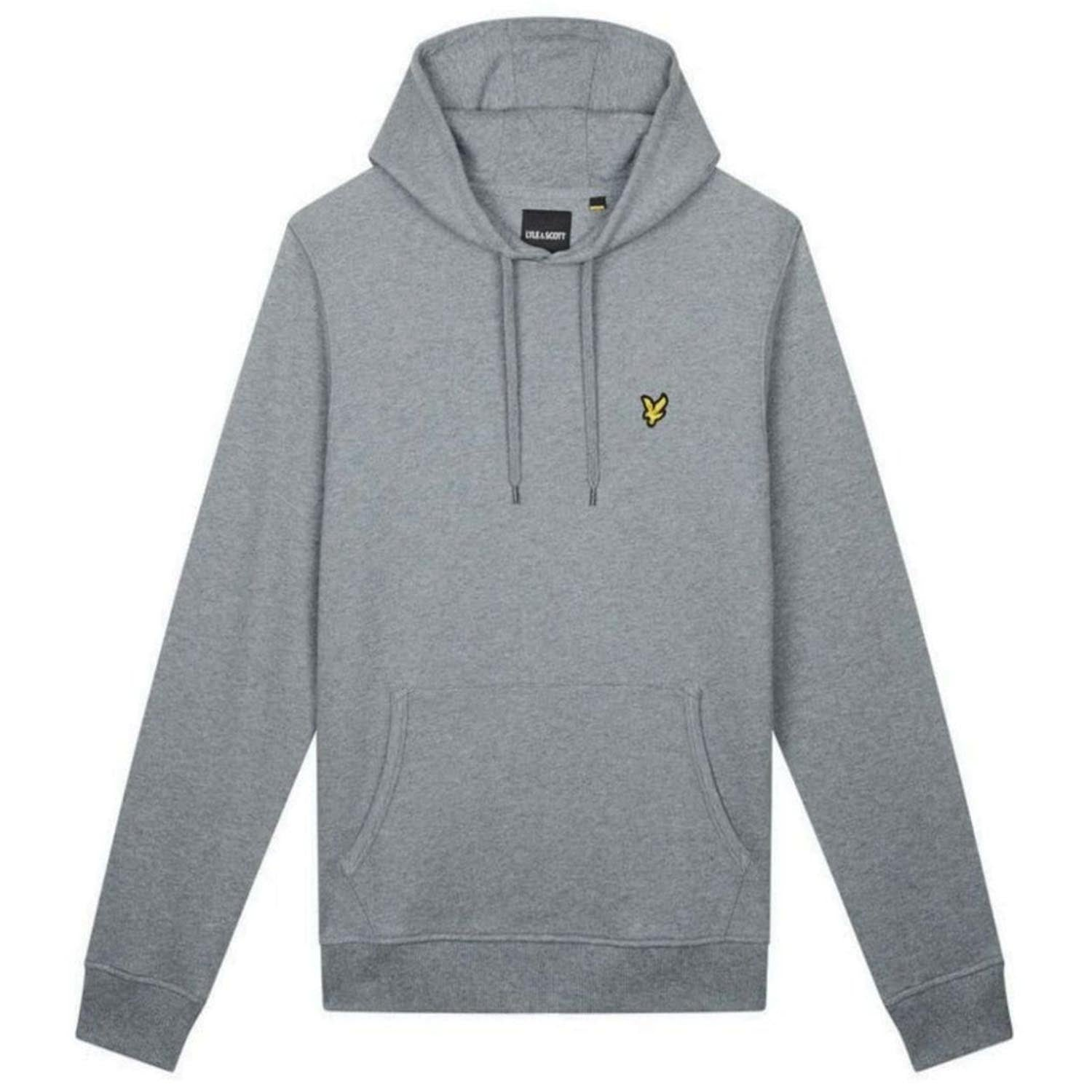 Lyle & Scott Embroidered Logo Pullover Hoodie