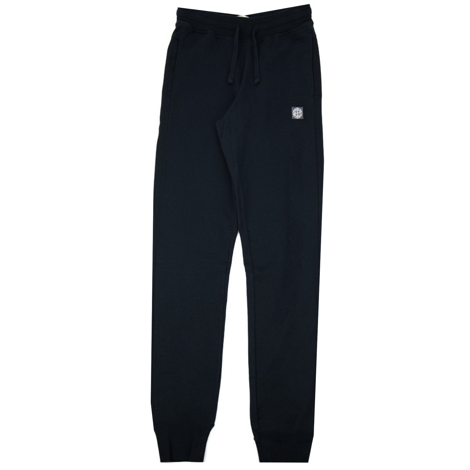 Stone Island Embroidered Logo Sweatpants Navy