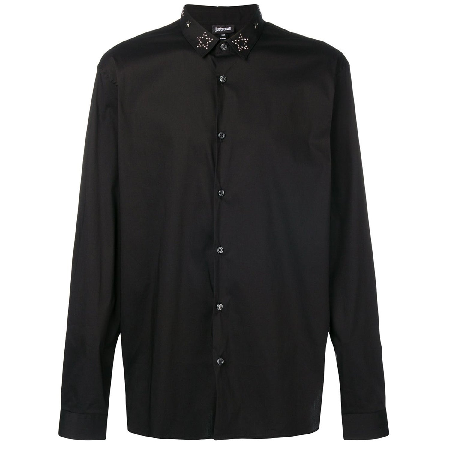 Just Cavalli Star Studded Collar Shirt