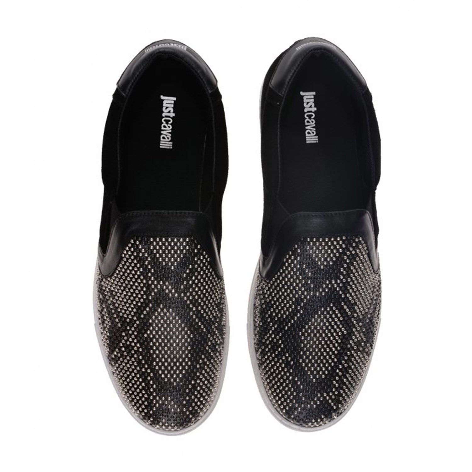 Just Cavalli Stone Detailing Slip on Trainer
