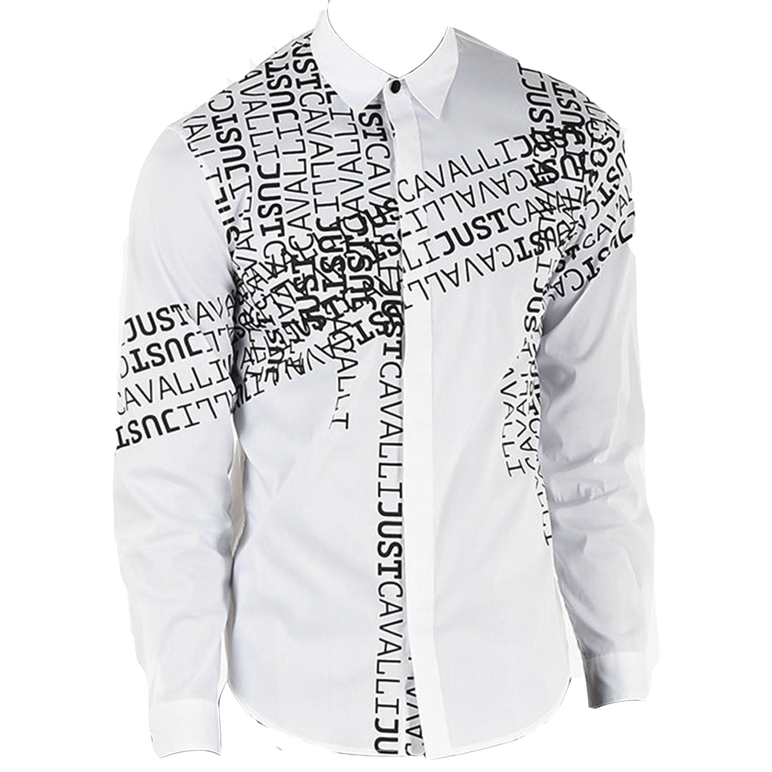 Just Cavalli Text Shirt