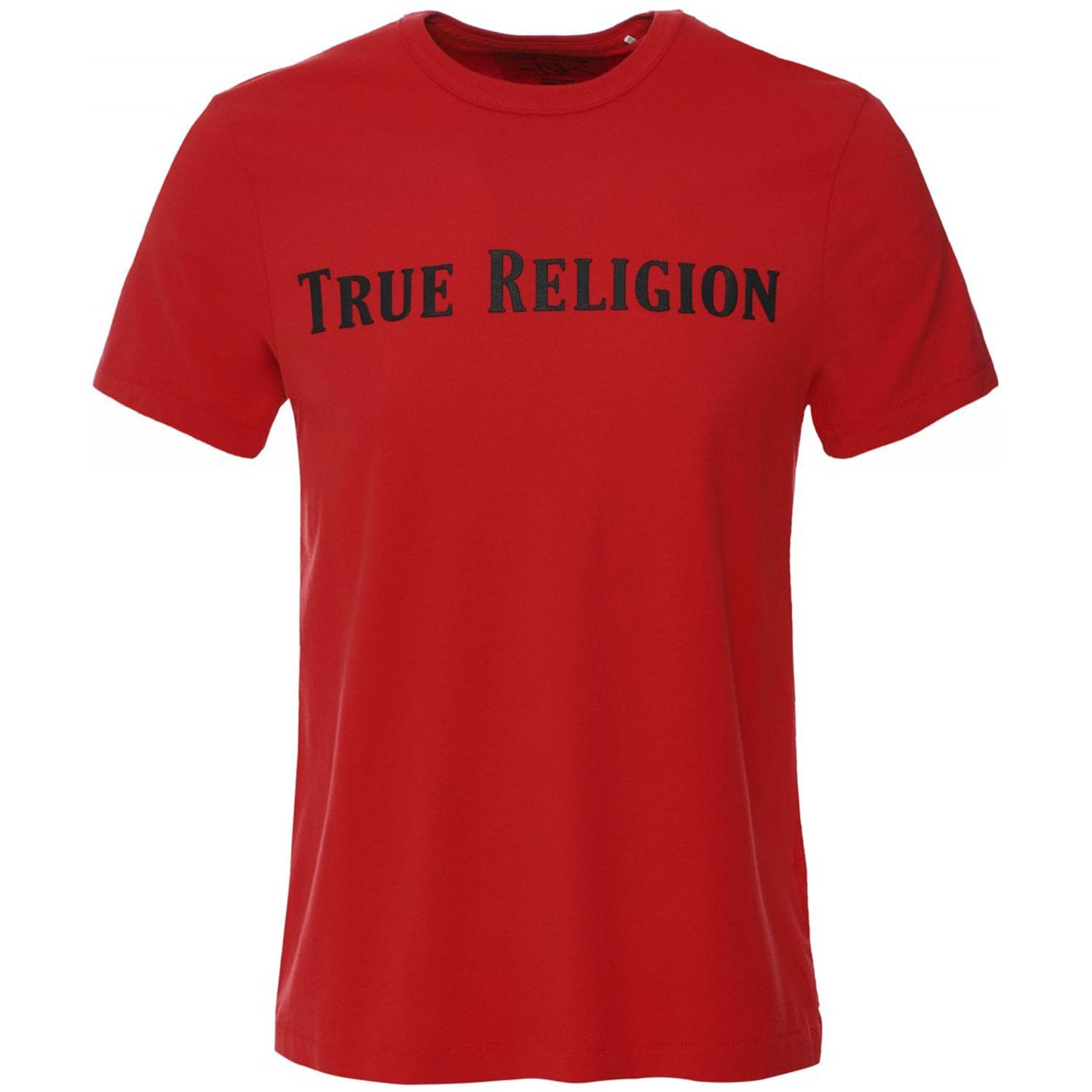 True Religion Crew Neck Straight Logo T-Shirt