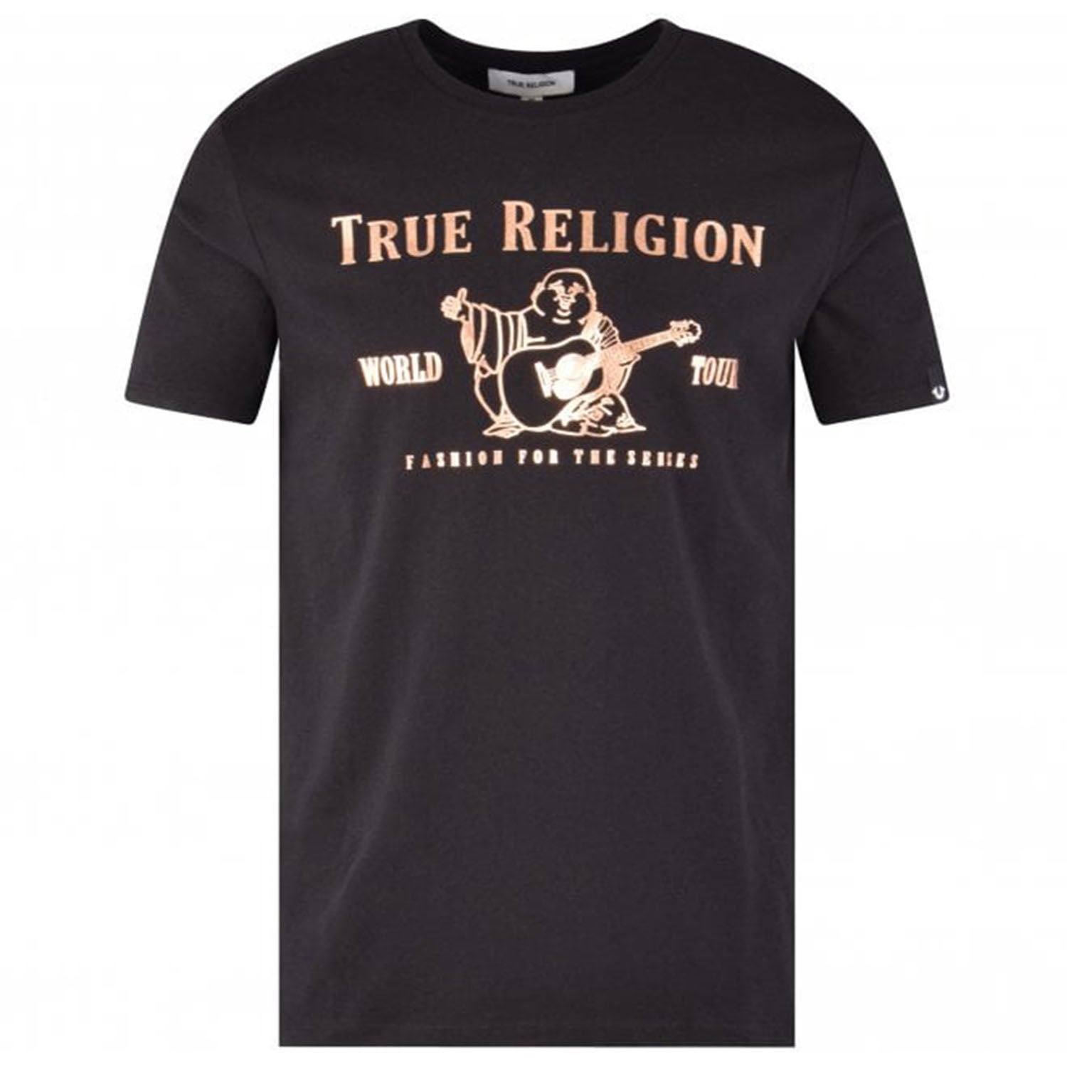 True Religion Buddha Branding Printed T-Shirt