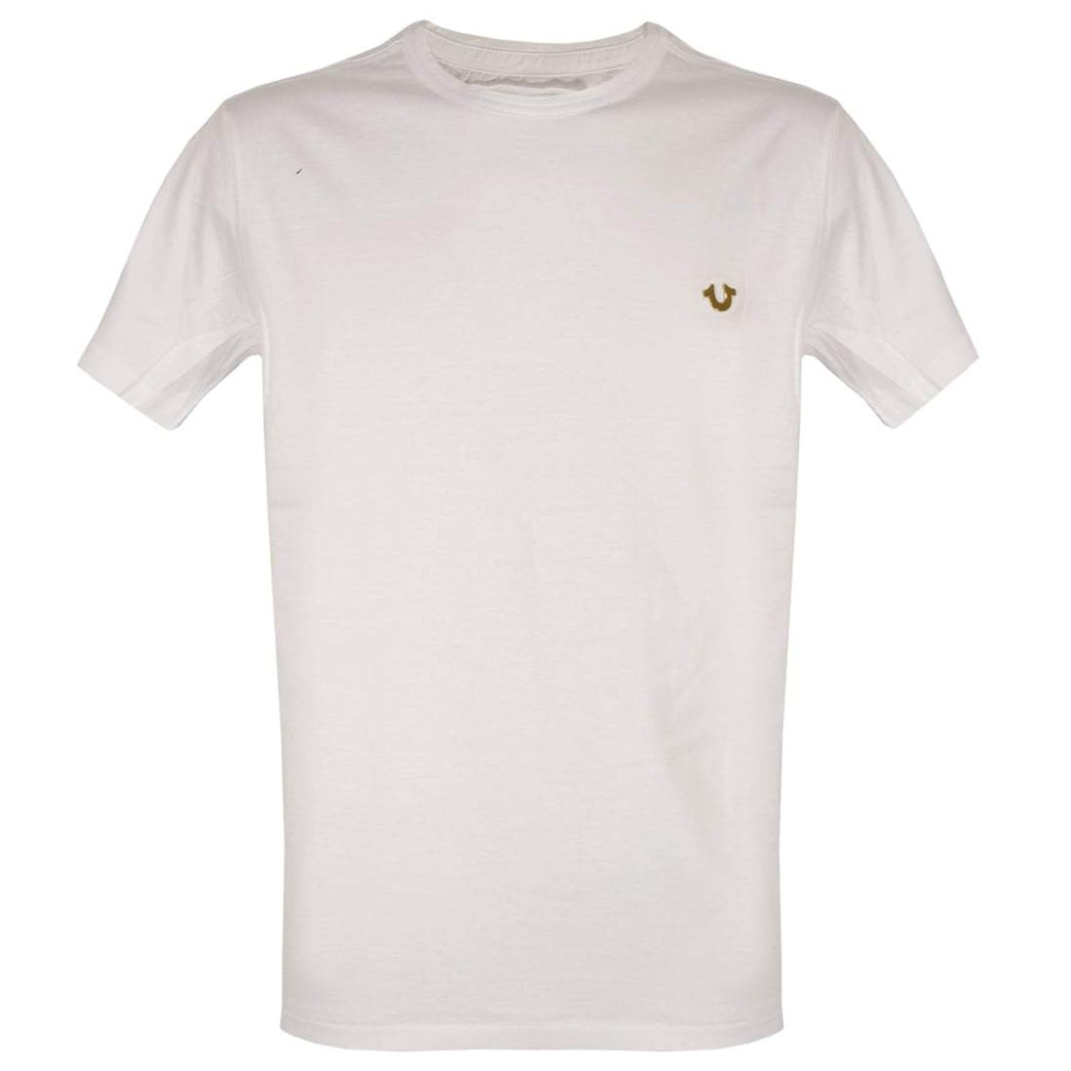 True Religion Metal Logo Crew Neck T-Shirt