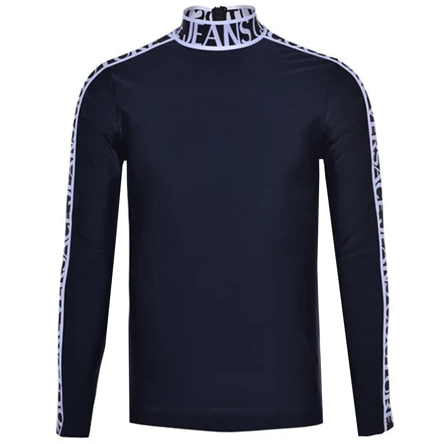 Versace Jeans Couture Long Sleeve Stripped Logo T-shirt