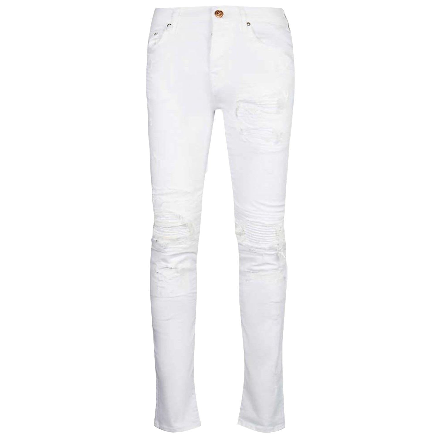 True Religion New Rocco White Jeans