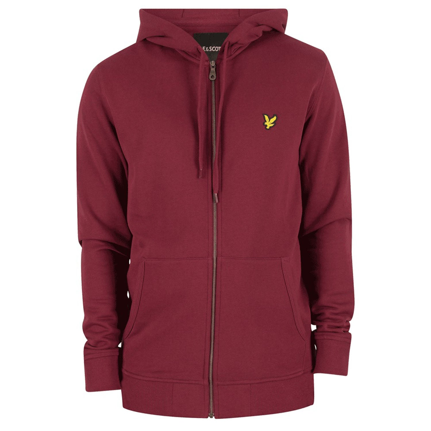 Lyle & Scott Zip Through Hooded Sweatshirt