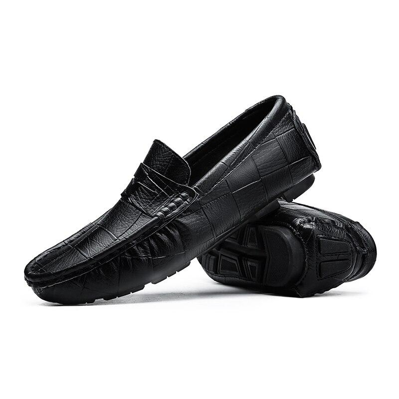 Genuine Leather Men Loafers - Zap Shoe