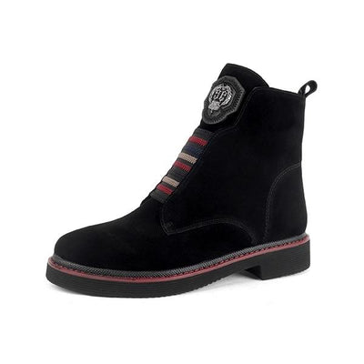 Kid Suede Ankle Boots - Zap Shoe