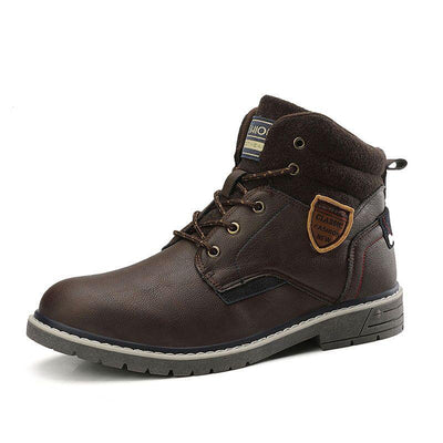 No Plush Men's Boots - Zap Shoe