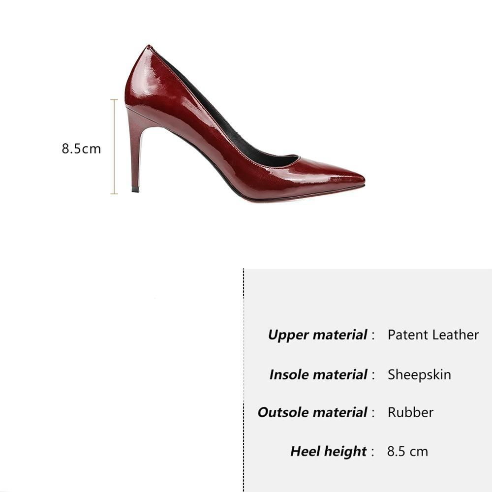 Patent Elegant Pumps - Zap Shoe