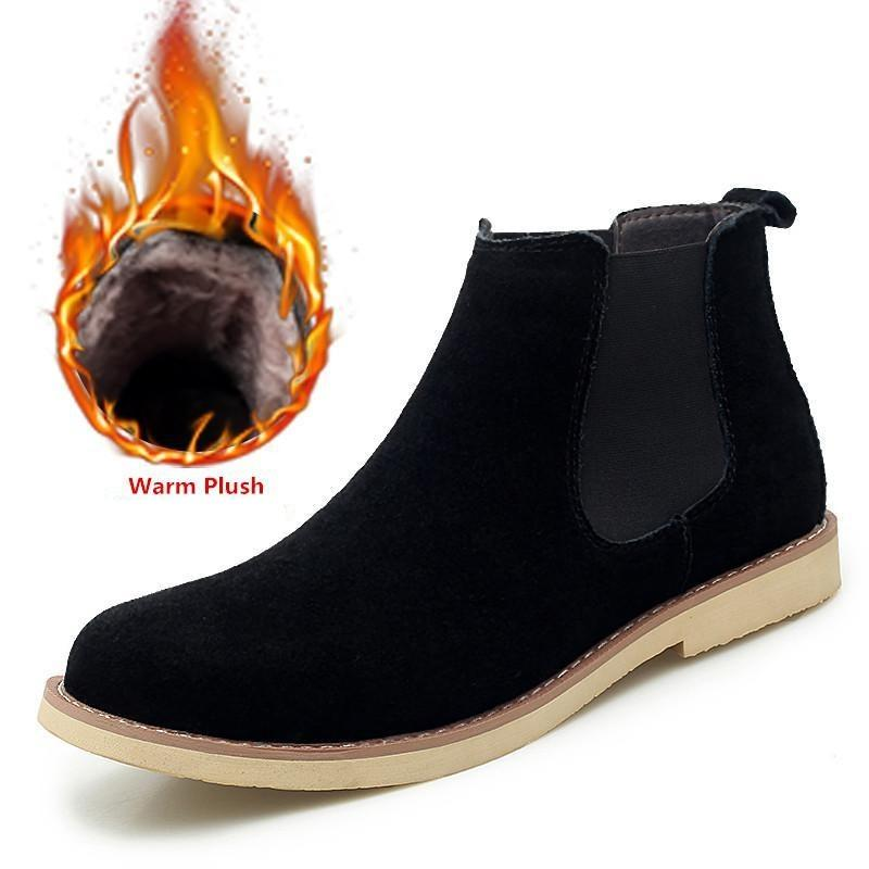 Plush Men Boots - Zap Shoe