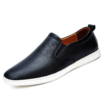 Real Leather Loafers - Zap Shoe