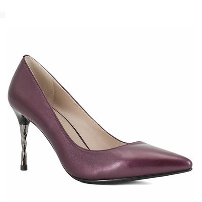 Sheepskin Elegant Pumps - Zap Shoe
