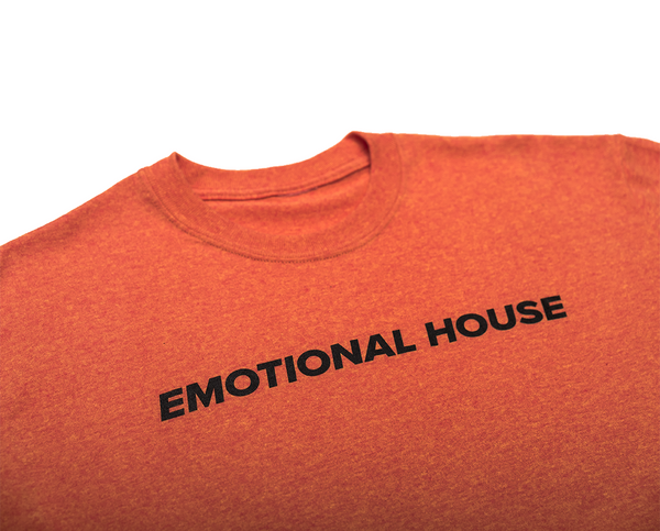 EMOTIONAL HOUSE  BLOOD ORANGE
