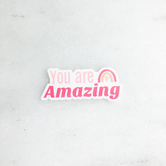 Amazing You Mirror Cling