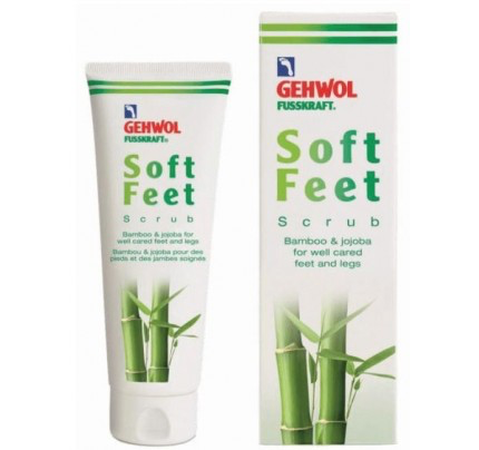 Gehwol Fusskraft: Soft Feet Scrub