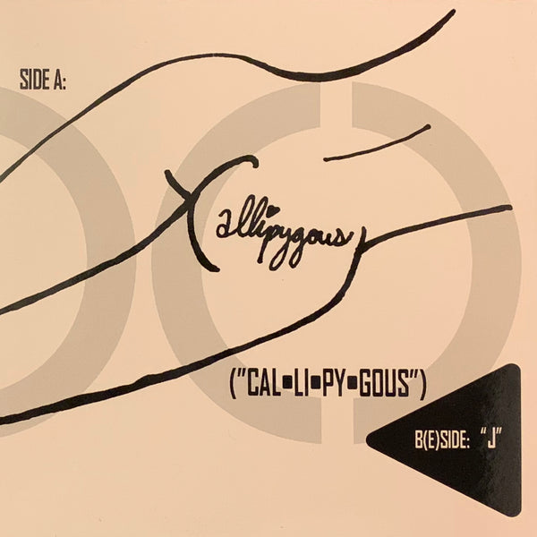 Callipygous/J (Single/B(e)side Compact Disc)
