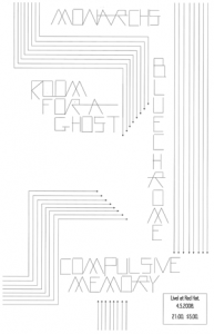 Poster 0000017 - Room For A Ghost- Live! At Red Hat - 2001.08.11 (Poster)