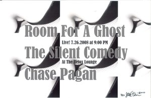 Poster 0000023 - Room For A Ghost - Live! At The Retox Lounge - 2001.07.26 (Poster)
