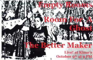 Poster 0000029 - Room For A Ghost - Live! At Kimo's - 2008.10.09 (Poster)