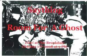 Poster 0000031 - Room For A Ghost - Live! At The Brookdale Lodge - 2008.10.17 (Poster)