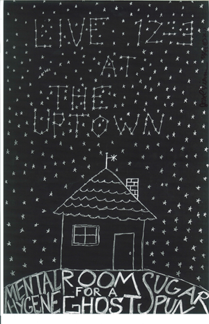 Poster 0000035 - Room For A Ghost - Live! At The  Uptown - 2008.12.03 (Poster)