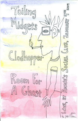 Poster 0000041 - Room For A Ghost - Live! At Annie's Social Club - 2008.12.19 (Poster)